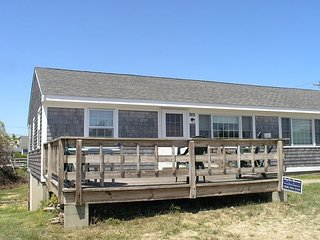 Three bedroom duplex just .2 miles to the beach