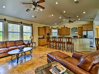 With room for up to 10 guests, you can spread out and relax on vacation.