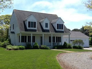 Contemporary four bedroom home just .5 miles to Inman Beach