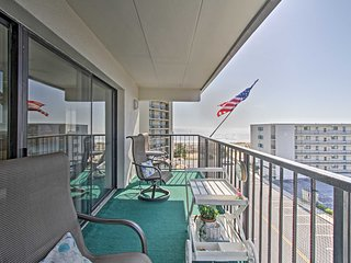 NEW! Ocean City Condo w/Views Steps from Beach!