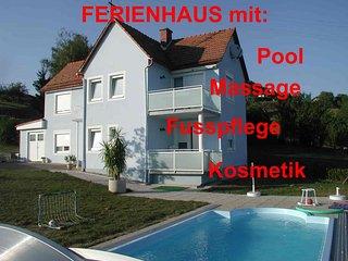 Casa Ananda Exklusives Ferienhaus mit Pool, Biotop, Massage, Fusspflege, Kosmetik