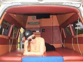 Campervan for hire. New way to explore java bali