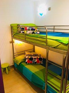 Habitación niños, literas