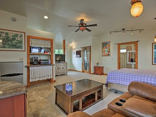 NEW! Breezy Kailua-Kona Studio -7.5 Miles to Town!