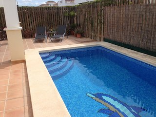 Villa with heated pool, La Torre golf resort