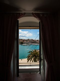 Trogir city center apartment with amazing sea view