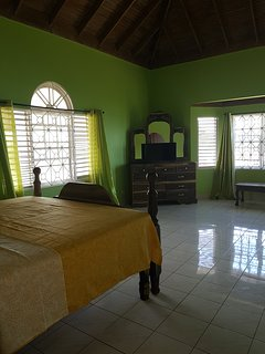 Very spacious suite with king-size bed, AC, ensuite bath, walk-in closet and safety deposit box.