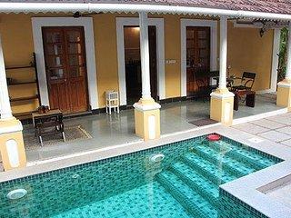 Portuguese Villa , Calangute | Private Pool/Jacuzzi