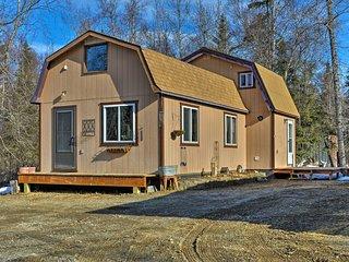 NEW! Kenai Cabin w/Loft - Walk to Daniels Lake!