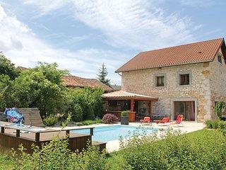 4 bedroom Villa in Saint-Étienne-de-Crossey, Auvergne-Rhône-Alpes, France : ref