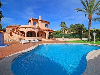4 bedroom Villa in Calpe, Valencia, Spain : ref 5435368