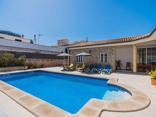 Chalet Colonia Sant Pere con piscina a 200 metros