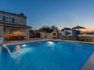 2 bedroom Villa in Hrboki, Istria, Croatia : ref 5543760
