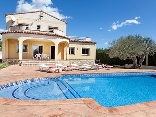 5 bedroom Villa in Las Tres Cales, Catalonia, Spain : ref 5555634