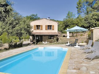 4 bedroom Villa in Sillans-la-Cascade, Provence-Alpes-Côte d'Azur, France : ref