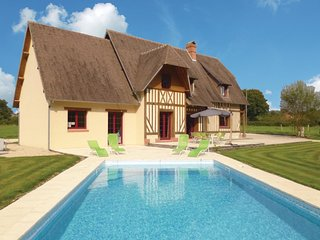 4 bedroom Villa in La Croupte, Normandy, France : ref 5539283