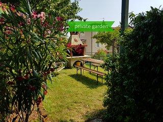 Pubblicato Appartamento con giardino e piscina