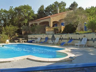 4 bedroom Villa in Montmeyan, Provence-Alpes-Cote d'Azur, France : ref 5543127