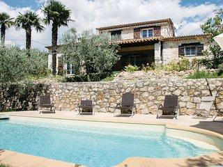 5 bedroom Villa in Fayence, Provence-Alpes-Côte d'Azur, France : ref 5539118