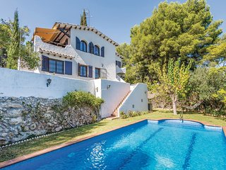 4 bedroom Villa in Sant Vicenç de Calders, Catalonia, Spain : ref 5545735