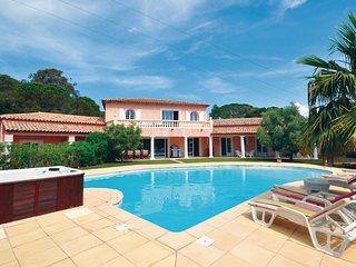 5 bedroom Villa in Sainte-Maxime, Provence-Alpes-Cote d'Azur, France : ref 55390