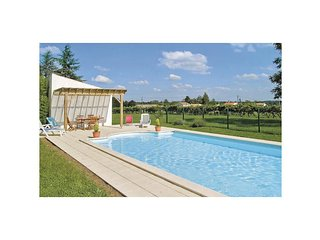 4 bedroom Villa in Saint-André-de-Lidon, Nouvelle-Aquitaine, France : ref 554640