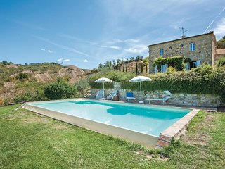 5 bedroom Villa in Celle sul Rigo, Tuscany, Italy : ref 5540429