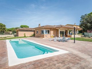 4 bedroom Villa in Vidreres, Catalonia, Spain : ref 5548850