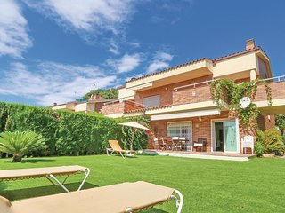 5 bedroom Villa in Sant Vicenc de Montalt, Catalonia, Spain : ref 5547794