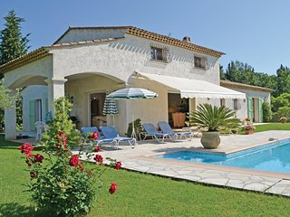 3 bedroom Villa in Plascassier, Provence-Alpes-Cote d'Azur, France : ref 5538981