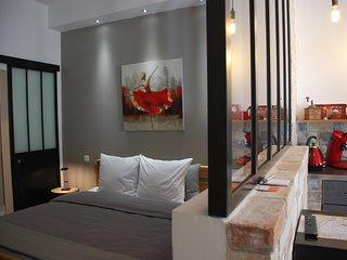 Elegant loft avec cour, proche centre ville