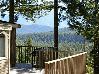 Eagles Nest Cabin, sweeping views/hi bank riverfrt