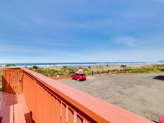 Dog-friendly, waterfront condo w/ ocean views - moments from the beach & town