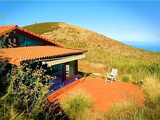 COZY WOODHOUSE IN PURE NATURE ON PRIVATE FINCA, CENTRIC, near teide nationalpark