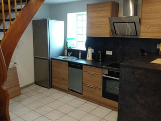 Large, fully-furnished 1 bed duplex apartment 5 min from Ramstein US Air Base