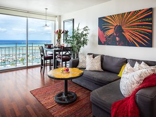 Penthouse Paradise stay in a work of Art!