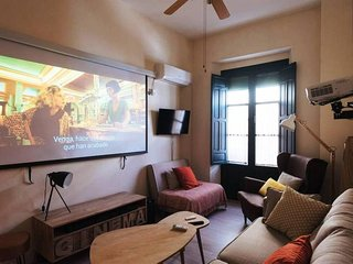 Apartment 397 m from the center of Seville with Internet, Air conditioning, Lift