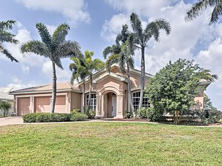 NEW! Spacious Beachy Cape Coral Home w/Lanai Pool!