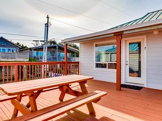 NEW LISTING! Waterfront condo with deck, ocean views, & direct beach access!