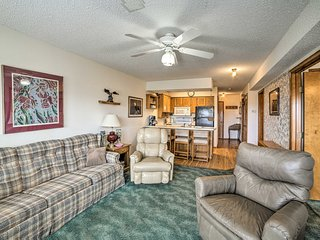 NEW! Condo w/Views 2mi from Silver Dollar City!