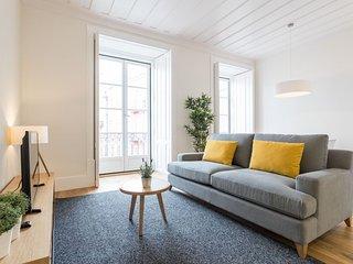 Spacious Restauradores Fantastic apartment in Baixa/Chiado with WiFi, integrated