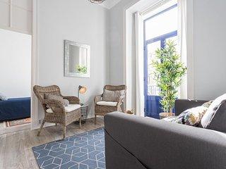 Alfama Blue apartment in Alfama with WiFi & balcony.