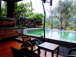 Villa Joglo 5 Kamar TIdur 3 Lantai Kolam Renang Pribadi