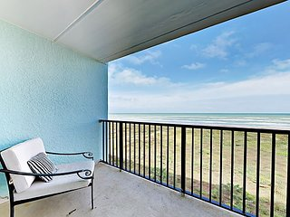 Gulf-Front 2BR w/ Pool, Balcony & Gorgeous Views - Steps to Beach & Bistros
