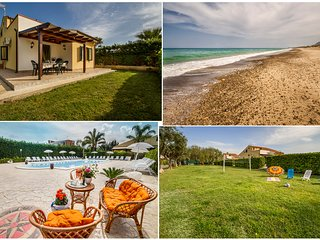 Case Vacanze Paradise Beach 2° pool and beach ad 8 km da Cefalù