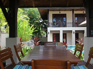 Luxury private villa in Kirikayan resort,10 min walk to Maenam beach sleeps 9