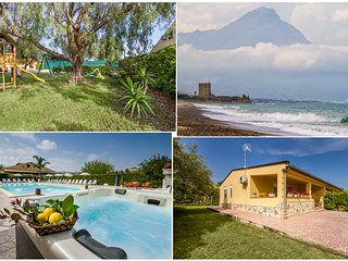 Case Vacanze Paradise Beach 1°pool and beach ad 8 km da Cefalù