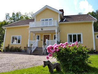 Stay at a traditional Swedish farm house.