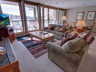 Lenawee 1738 walk to Lake, FREE shuttle to slopes,  FREE WIFI, king bed by Summi