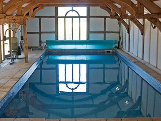 Private use indoor heated swimming pool 12m